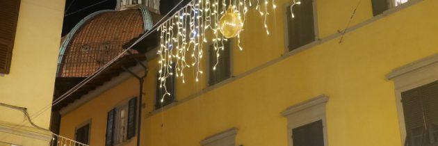 Dekoracje świąteczne w mieście