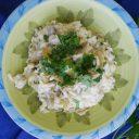 Risotto z karczochami i gorgonzolą
