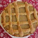 Kruche ciasto z jabłkami i kremem orzechowym