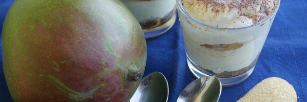 Tiramisù z kremem mango
