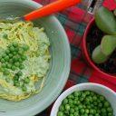 Tagliolini z sosem ricottowo – groszkowym