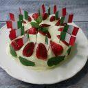 Tort trzykolorowy. Włoskie barwy