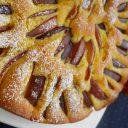 Ciasto brzoskwiniowo – kukurydziane