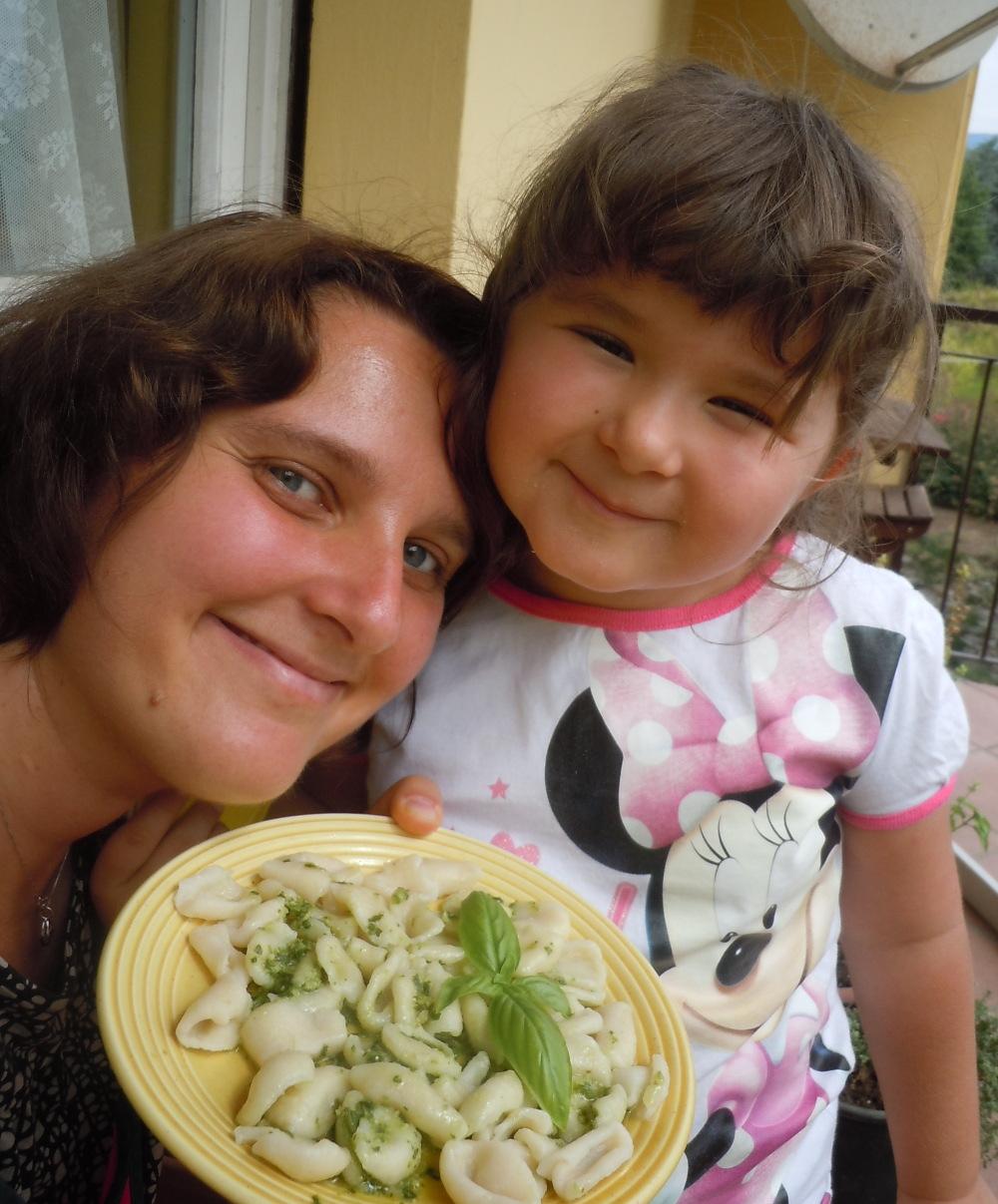Orecchiete al pesto (kuchnia wloska)