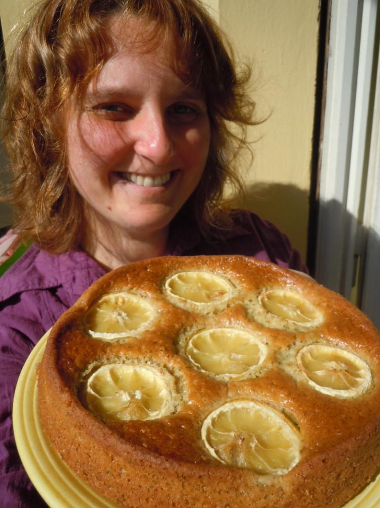 Weganskie ciasto cytrynowo-mietowe