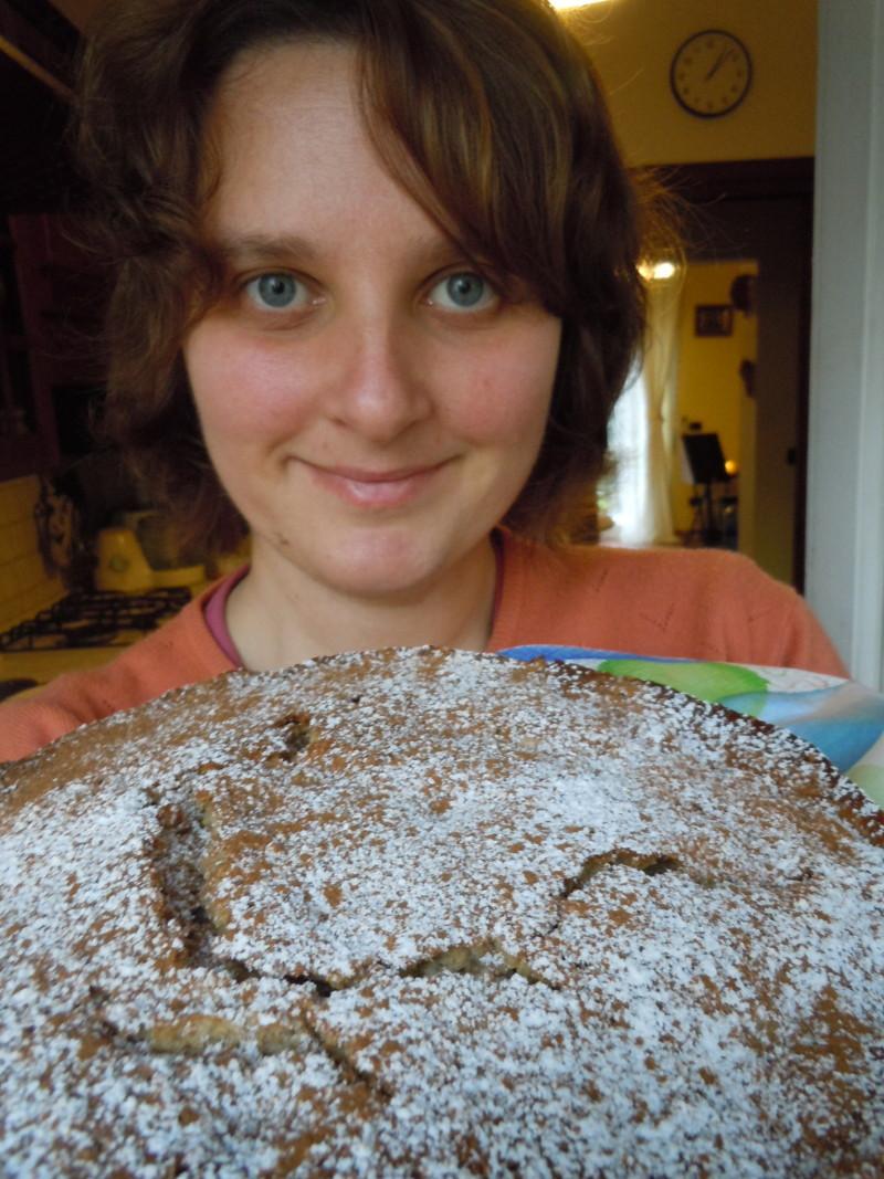 Weganskie ciasto gruszkowe (kuchnia wloska)