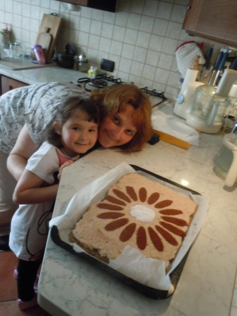 Ciasto raw food - tort dla Irene