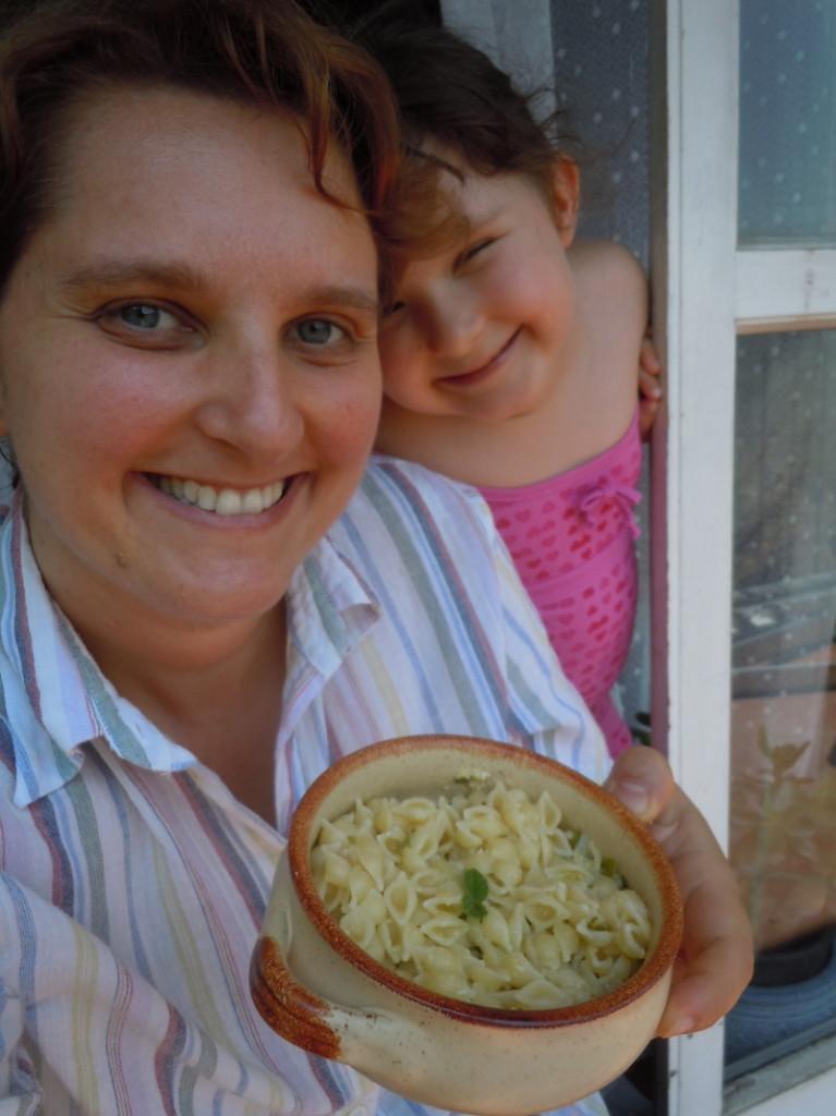Conchigliette al limone e menta (Viva la pasta!)