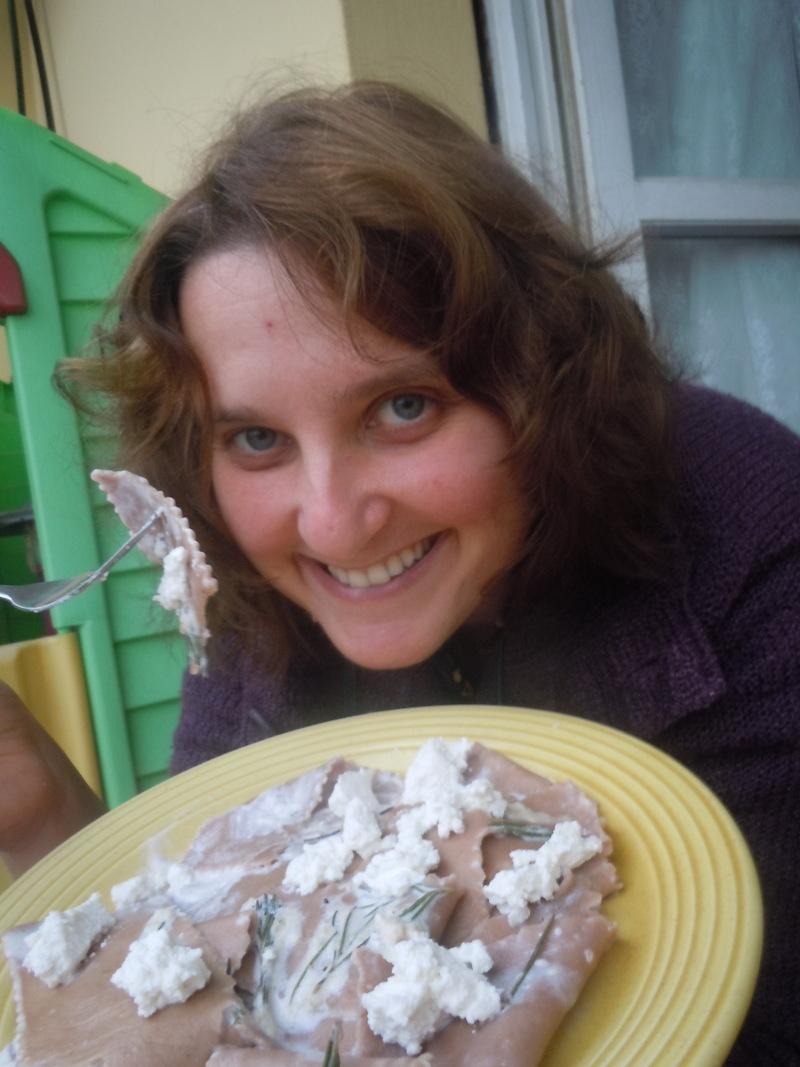 Maltagliati con la ricotta (kuchnia wloska)