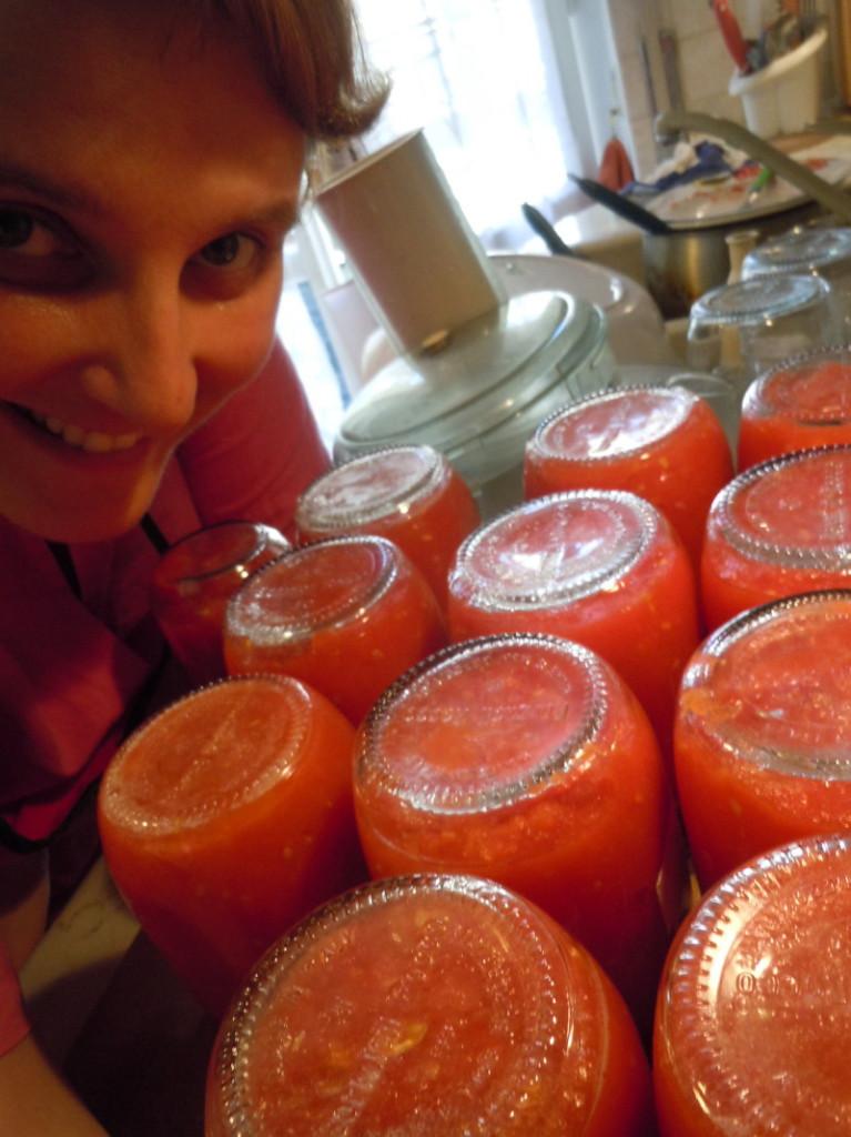 Sezon na przecier pomidorowy :)