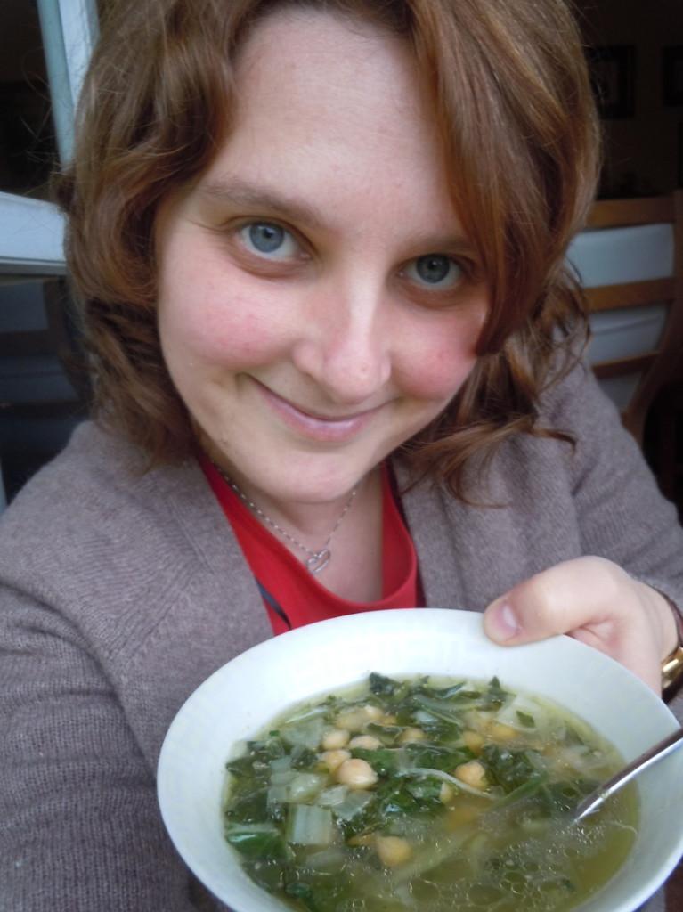 Zupa toskanska ceci e bietola
