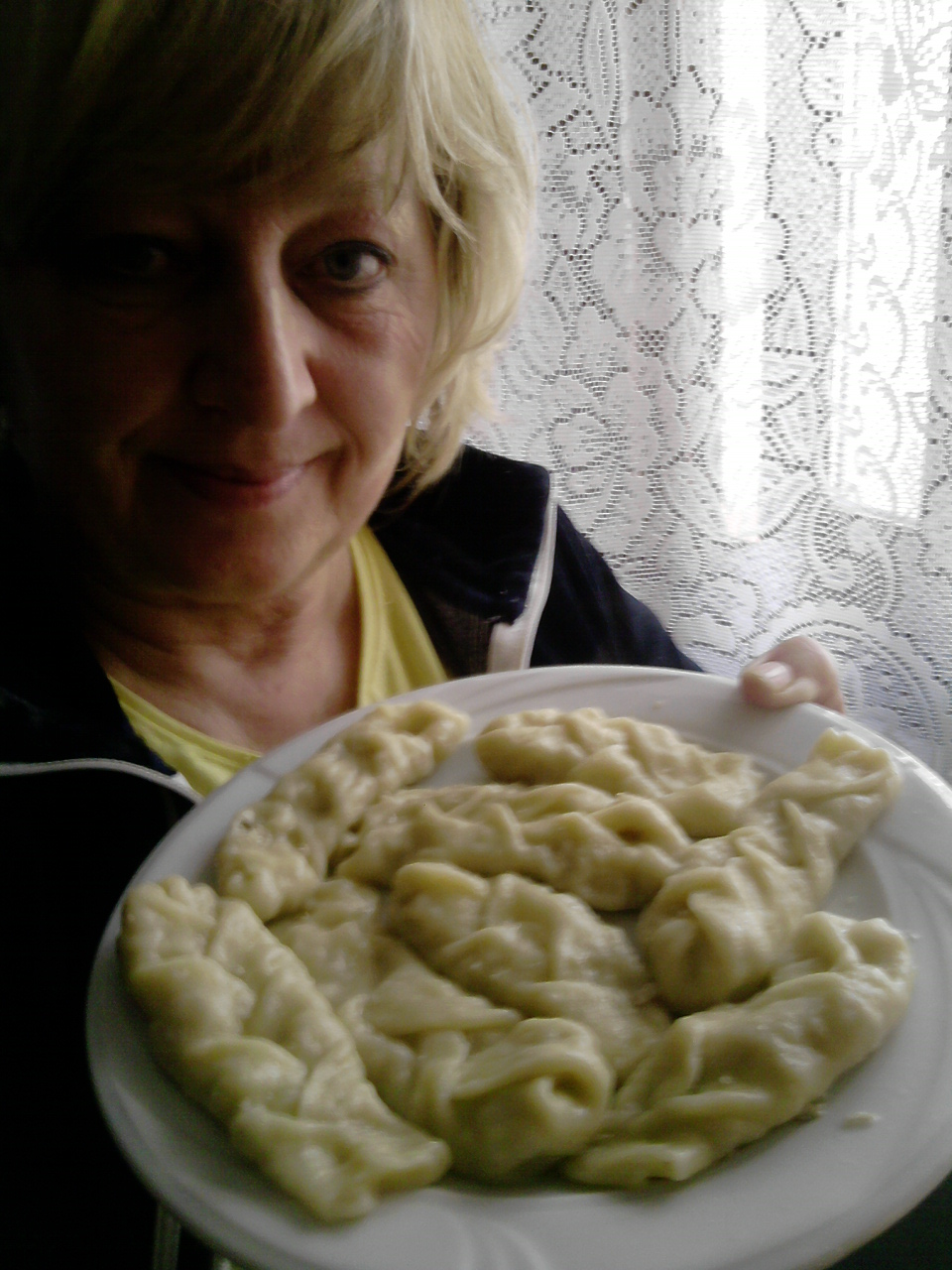 Alina z Hiszpanii i tortelli con la coda