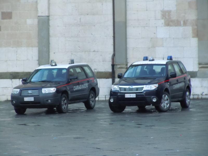 Carabinieri w gotowosci