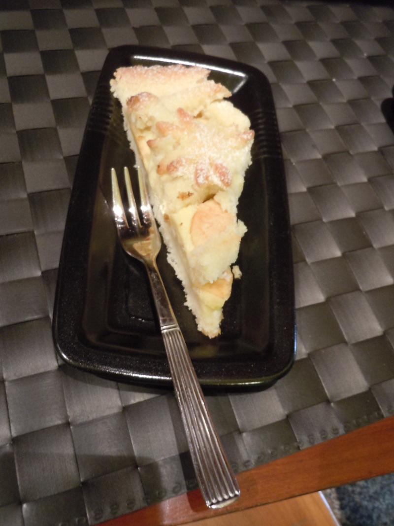 Tarta jablkowo-kokosowa z kremem