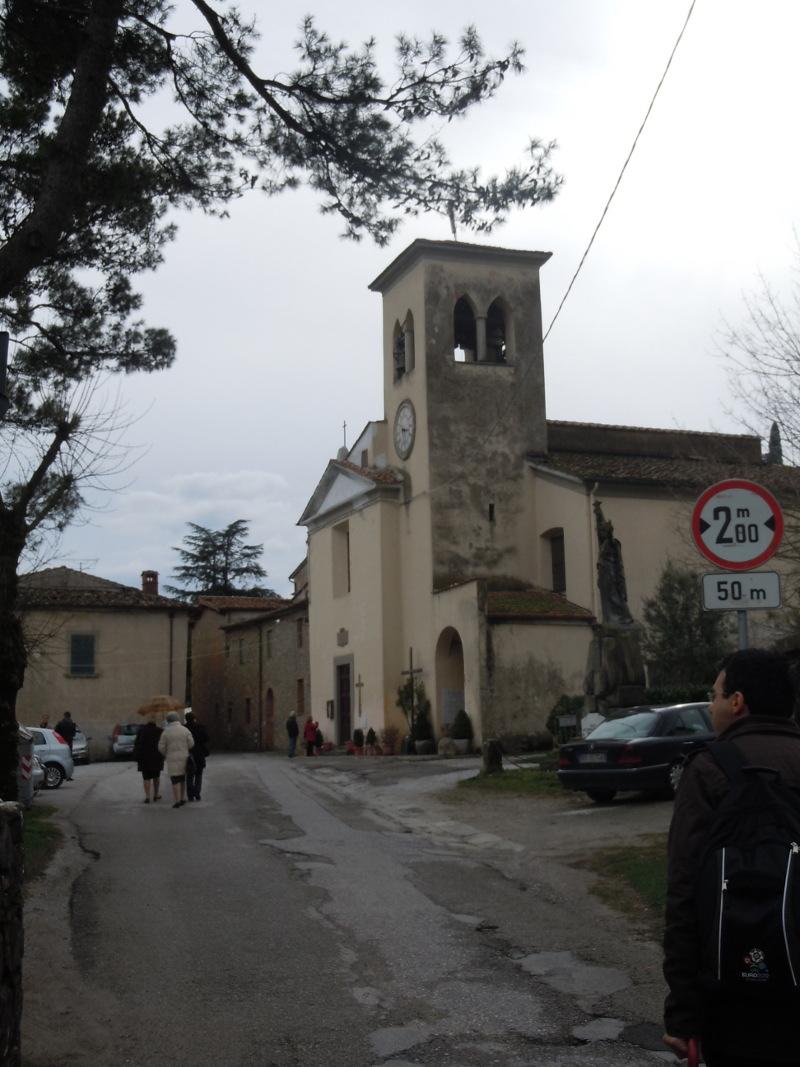 Kosciol w Gello