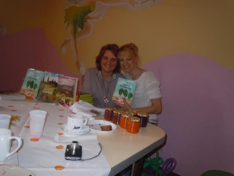 Ja i pani Aldona - szkoda, ze nie moze przeniesc swojego przedszkola do Pistoi :(