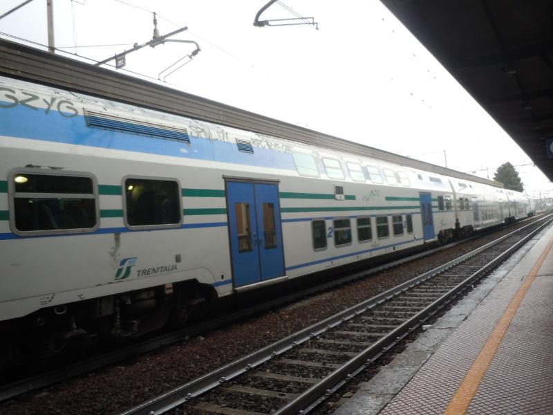 Pociag na stacji Prato