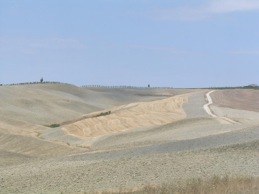 Panorama w okolicach Sieny