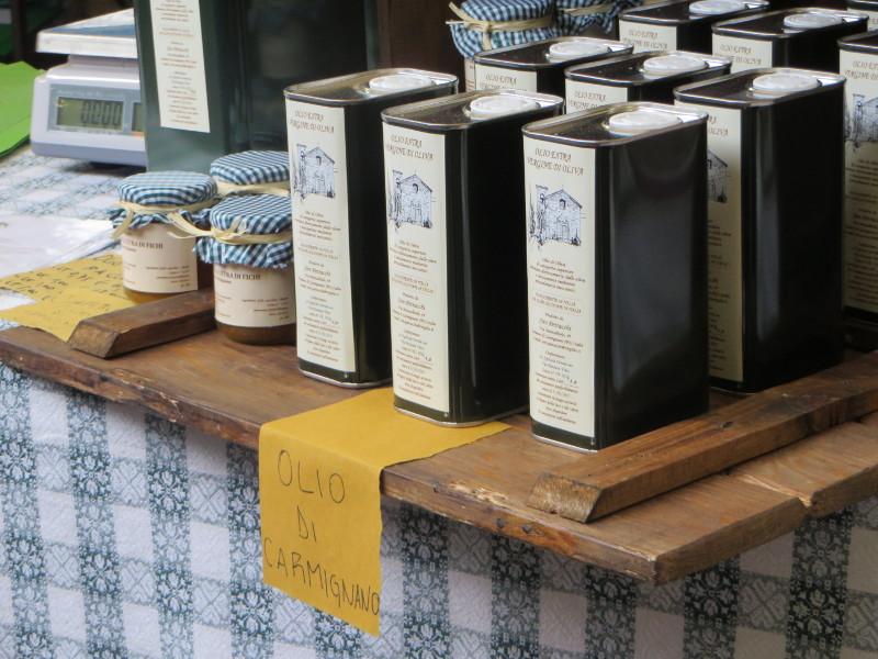 Oliwa z oliwek z Carmignano