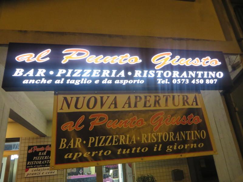 napis_pizzeria_al_punto_giusto_pistoia_moja_toskania