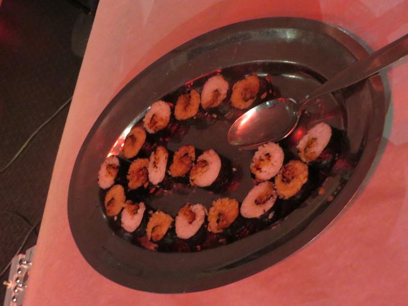 Weganskie sushi