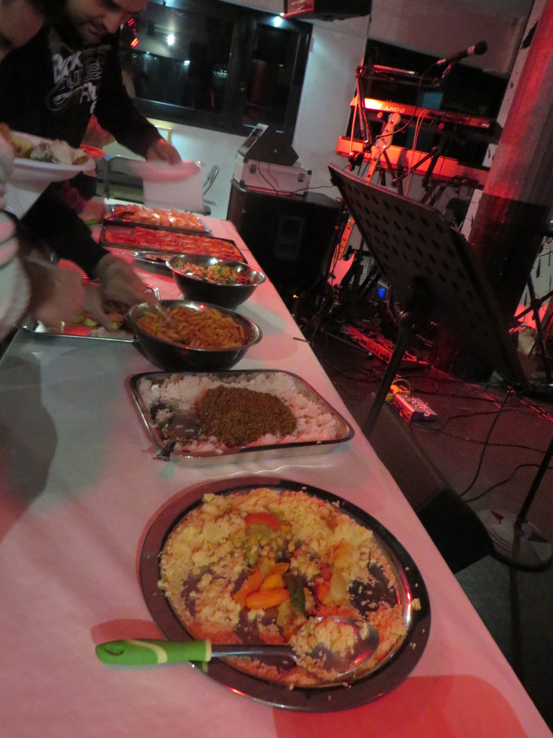 Bufet weganski w calej okazalosci
