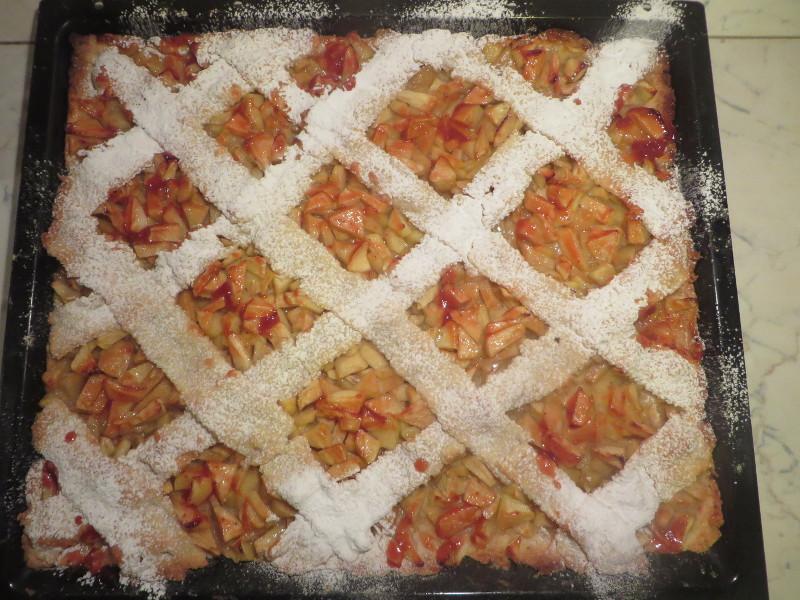 Tak wygladalo moje ciasto (znacie juz je z bloga, ciasto Krolewny Sniezki, tu w mega odslonie)
