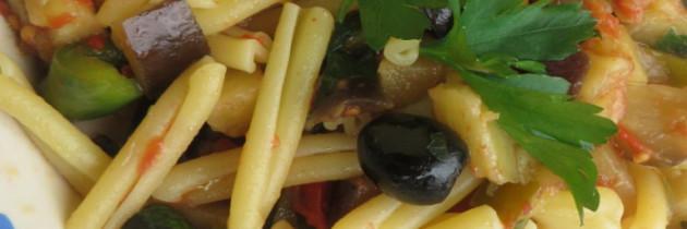 Viva la pasta! cz.26, Gemelli alla siracusana