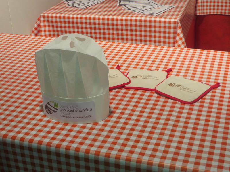 Stoisko szkoly gastronomicznej w Pistoi