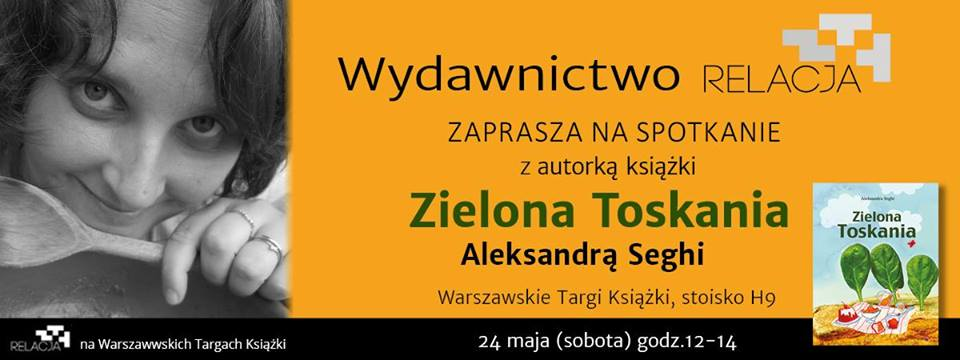 zaproszenie_aleksandra_Seghi_targi_ksiazki_warszawa_2014_moja_toskania