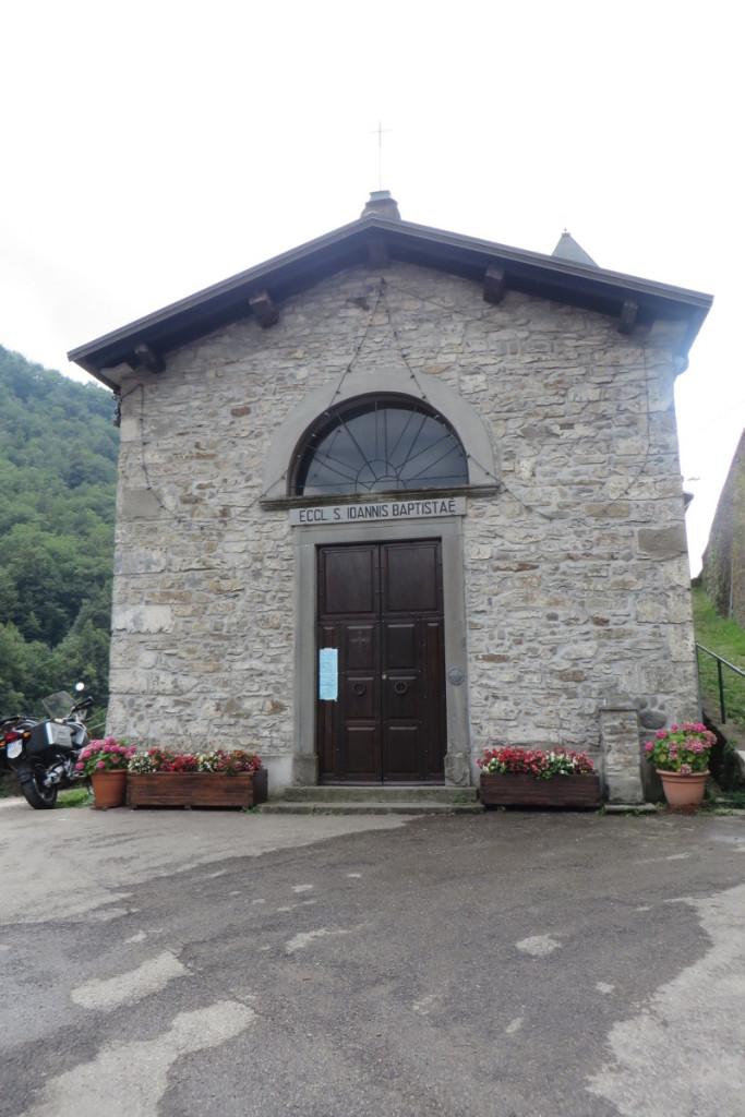 Kosciol w Biagioni,  niestety zamknietty