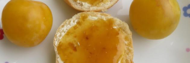 Dżem z żółtej renklody i jabłek