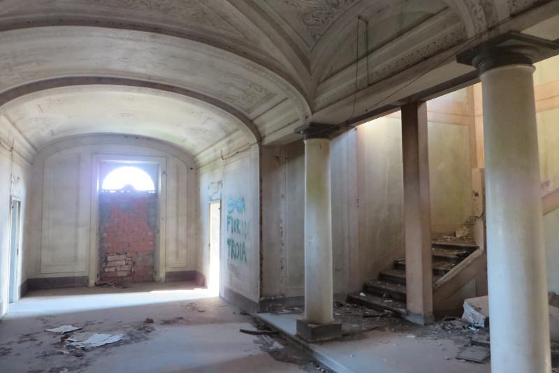 Przepiekny korytarz na I pietrze