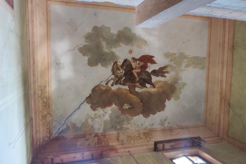 Malowidlo nad klatka schodowa