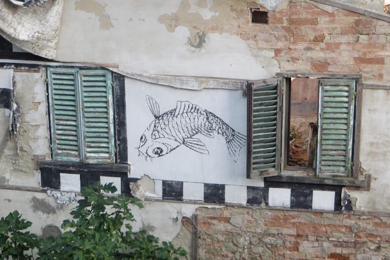 namalowana_ryba_castelnuovo_dei_Sabbioni_moja_Toskania