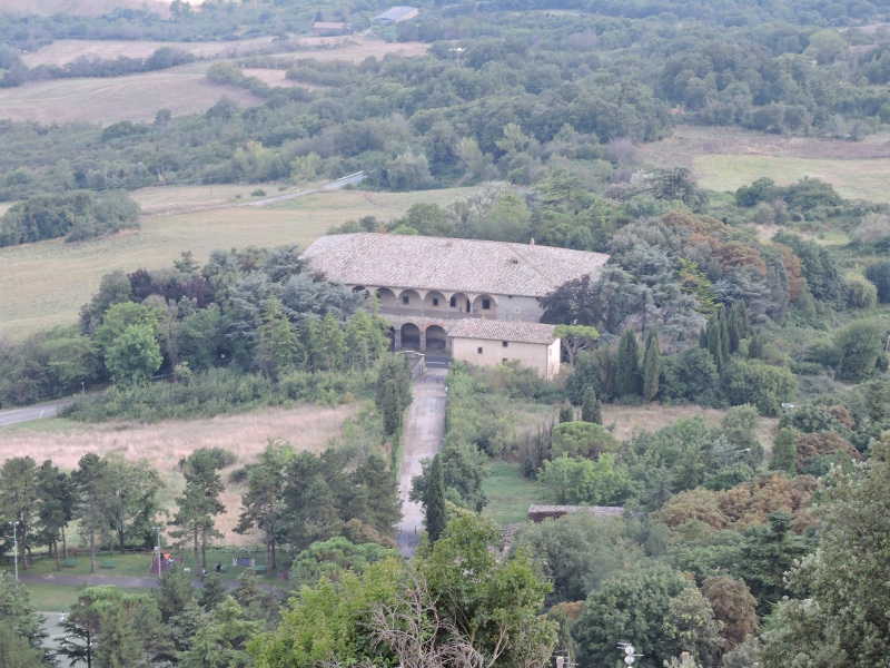 Willa Medyceuszy widziana z fortecy