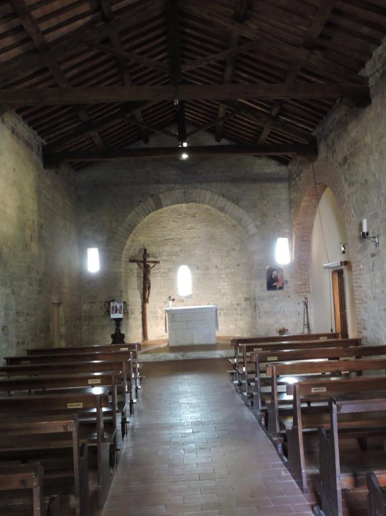 Wnetrze kosciola Santa Maria Maddalena