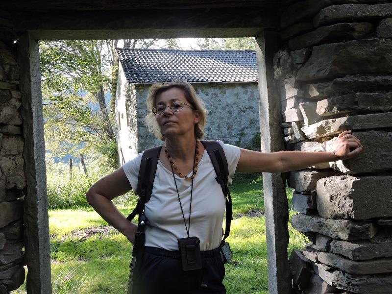 Andrea, z ktora czesto zwiedzamy miasta widma