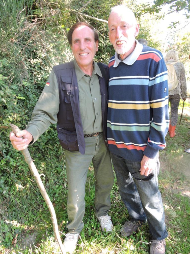 Po lewej Eduardo Paladini, po prawej: Enzo Cervioni