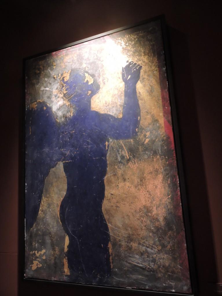 Niebieski aniol