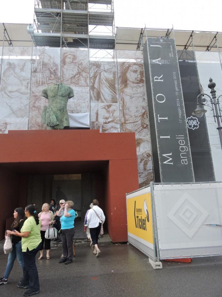 Wejscie do muzeum