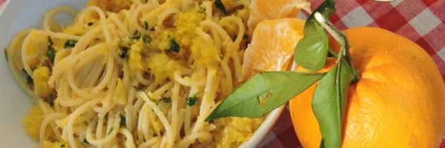 Viva la pasta! cz.39 Spaghetti z pomarańczami