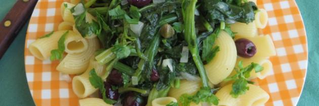 Viva la pasta! cz.51, Kolanka w zielonej tonacji