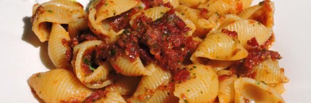 Viva la pasta! cz.53, Muszelki w sosie umbryjskim