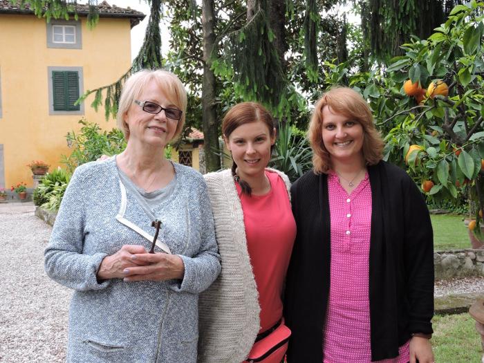 U Marii mieszkala Gosia Molska, ktora nagrywala z nami material dla telewizji sniadaniowej