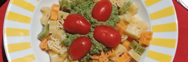 Viva la pasta! cz.58, Trzykolorowy makaron z pesto ogórkowym