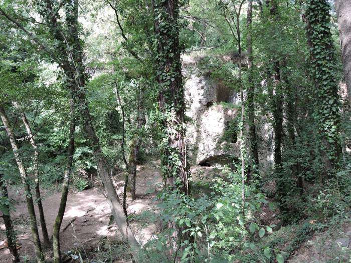 Widok na Mulinaccio z gory