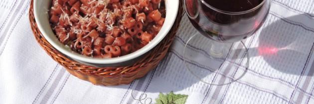 Viva la pasta!, cz.62, Ditalini w winie