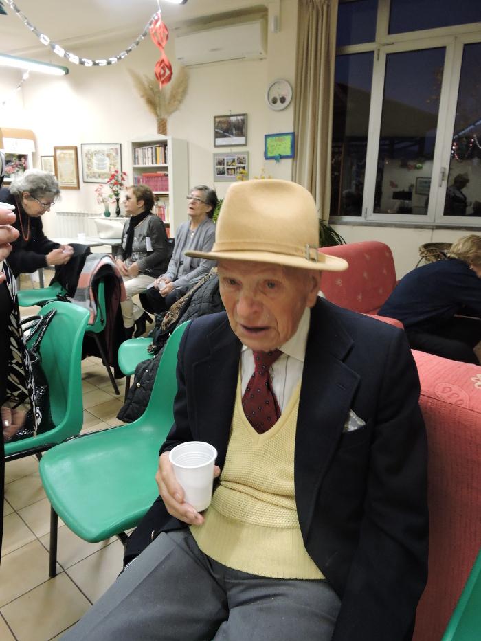 Najstarszy uczestnik Klubu Seniora