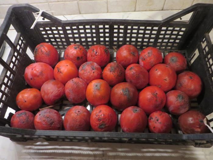 W skrzynce jest okolo 3 kg owocow, 1 kg zostal odstawiony do bezposredniego spozycia ;)